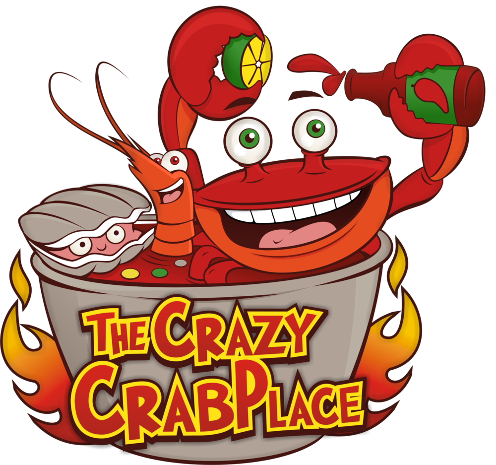 The crazy crab place. Lobster clipart steak lobster