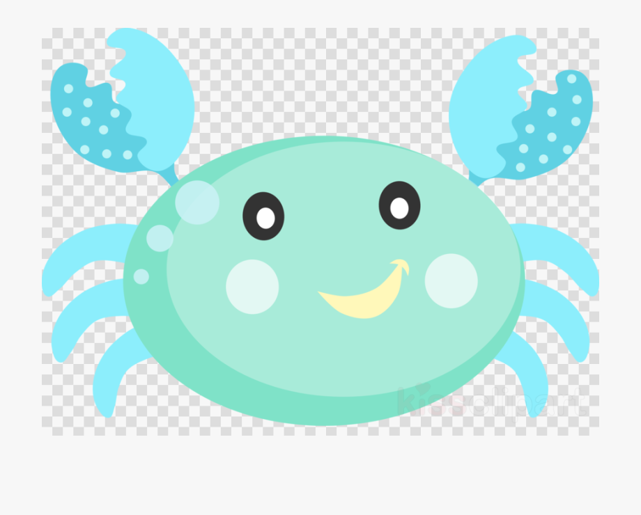 Crabs clipart sea creature. Animals png funny face