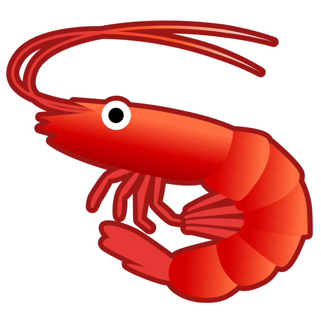 Crabs clipart shrimp. Icon noto emoji animals