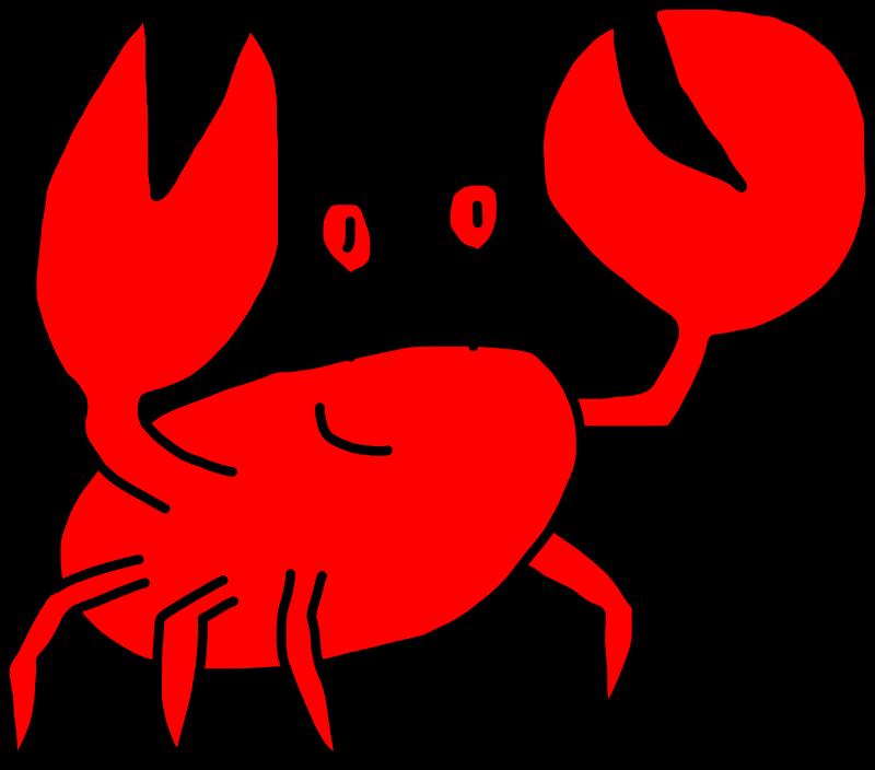 Crabs clipart shrimp. Snow crab clip art