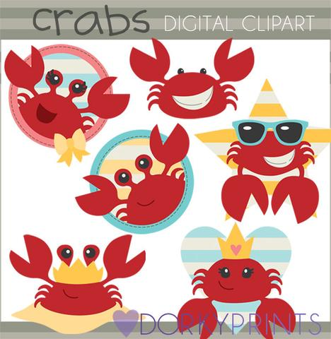 Crab . Crabs clipart summer