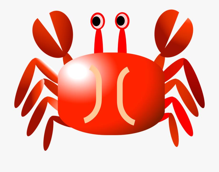 Crabs clipart svg free. Crab cartoon transparent