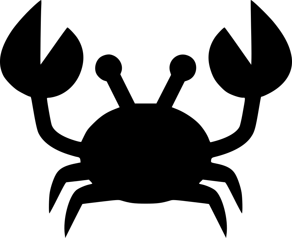 Crabs clipart svg free. Krab png icon download