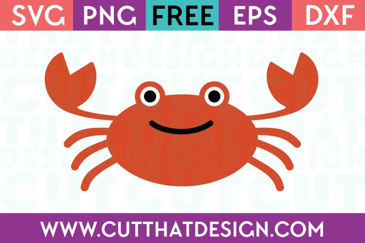 Files happy crab design. Crabs clipart svg free