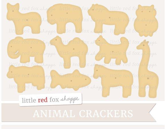 Animal illustrations creative market. Cracker clipart