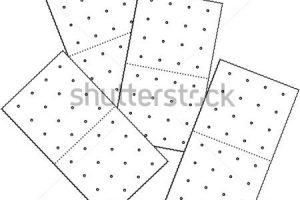 Crackers station . Cracker clipart black and white