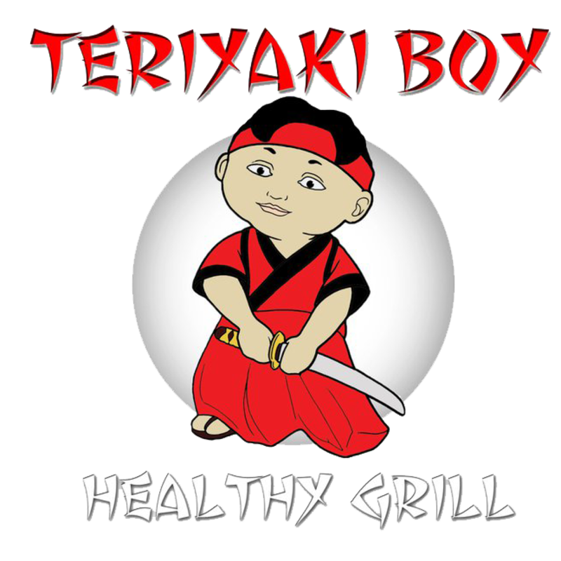Teriyaki boy healthy grill. Cracker clipart bland