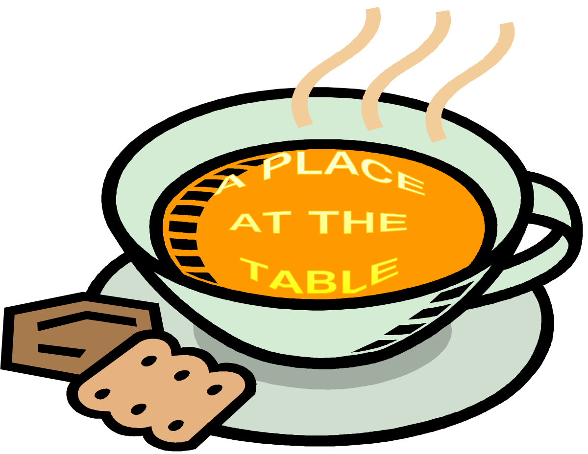 Soup clipart soup cracker. Caring for our community