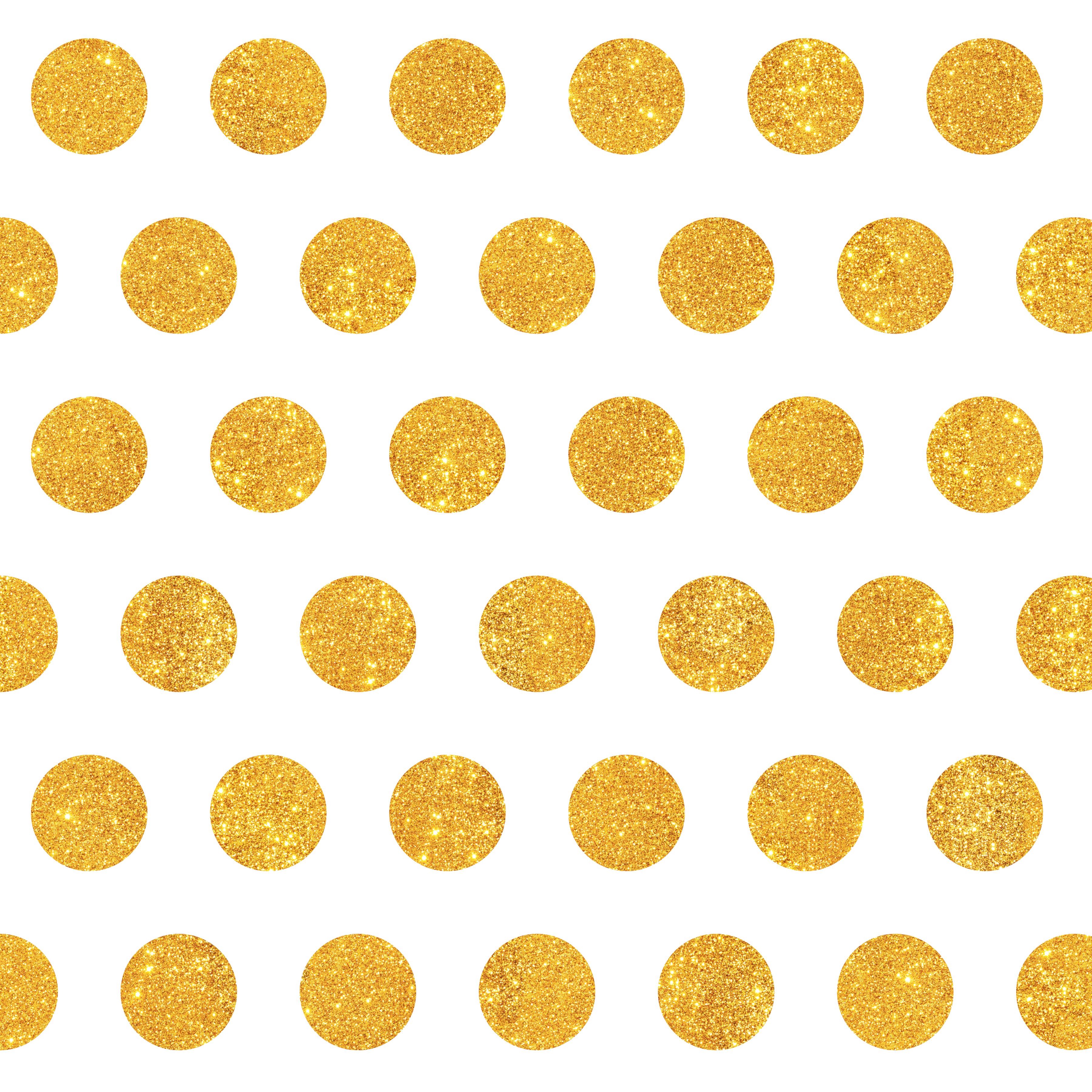 Dot clipart gold dot. Polka circle pattern dots