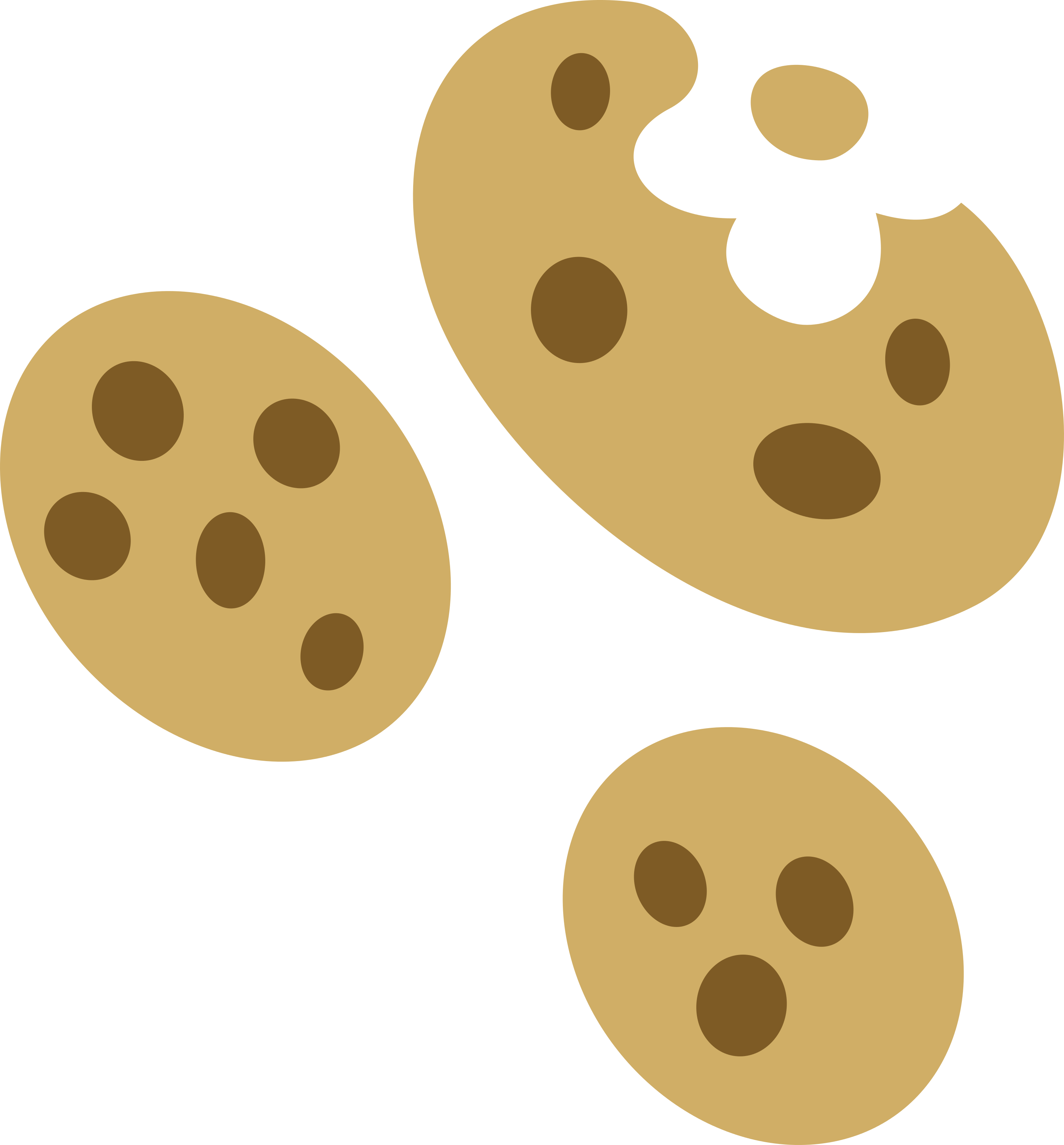 Cracker clipart circle. Sweet biscuit cm by