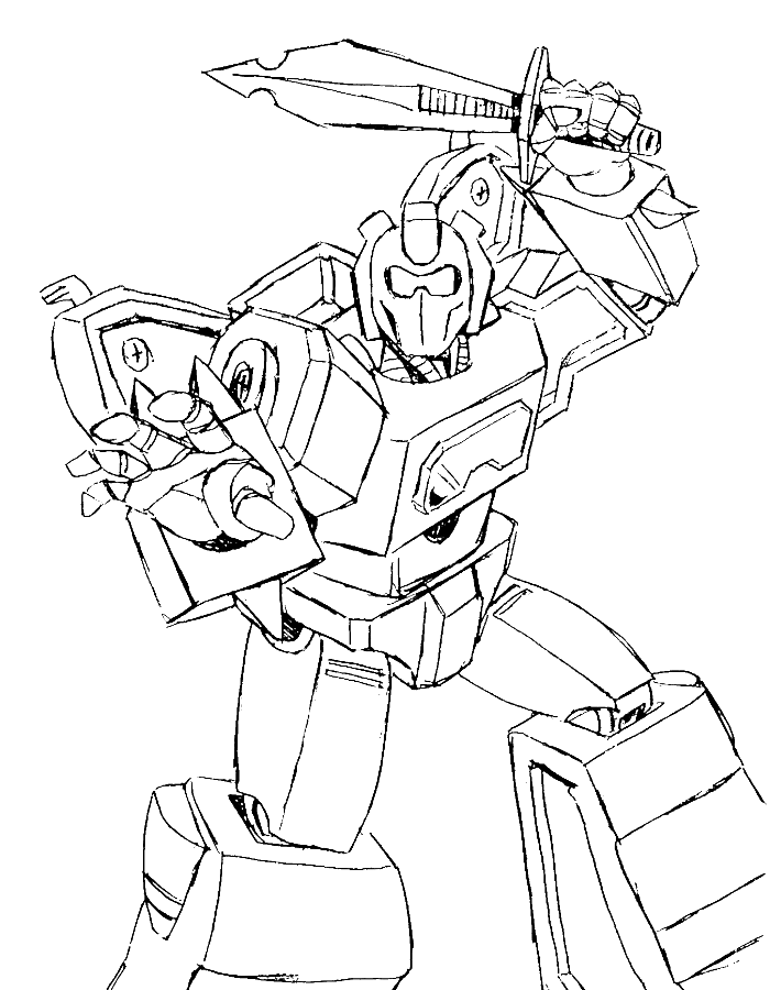 Cracker clipart colouring. Transformers was issued swords