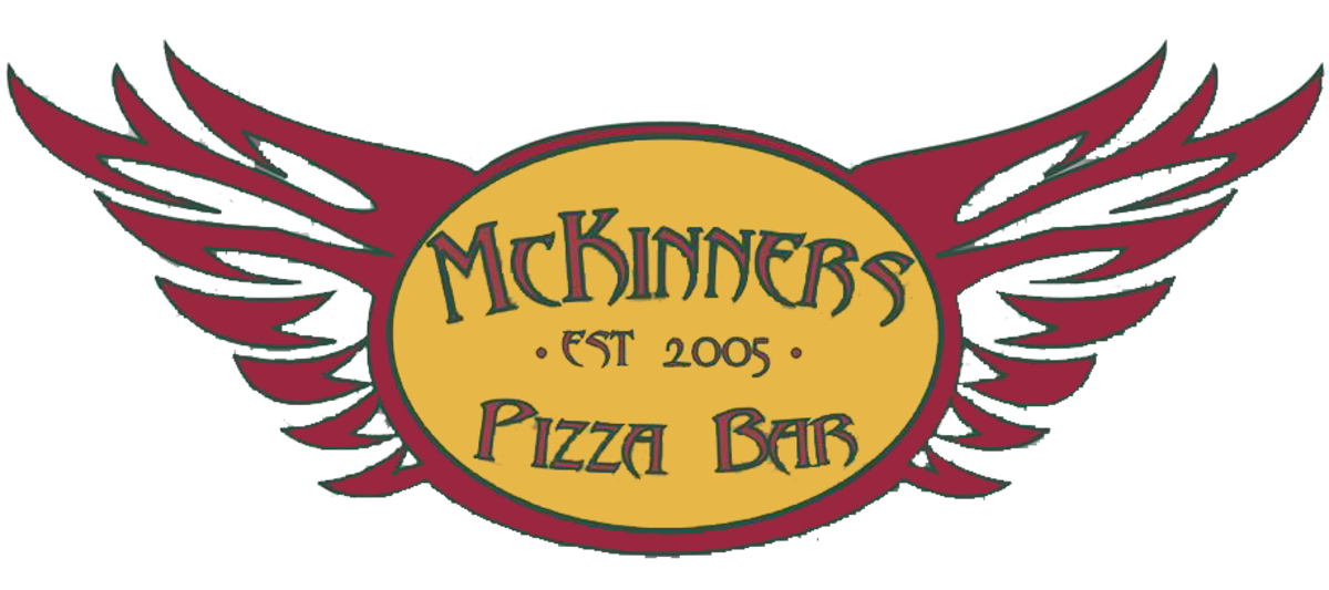 Mckinners pizza bar delivery. Cracker clipart extra