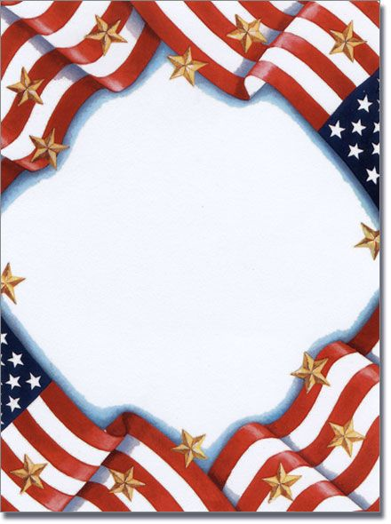Cracker clipart memorial day. Free patriotic page borders