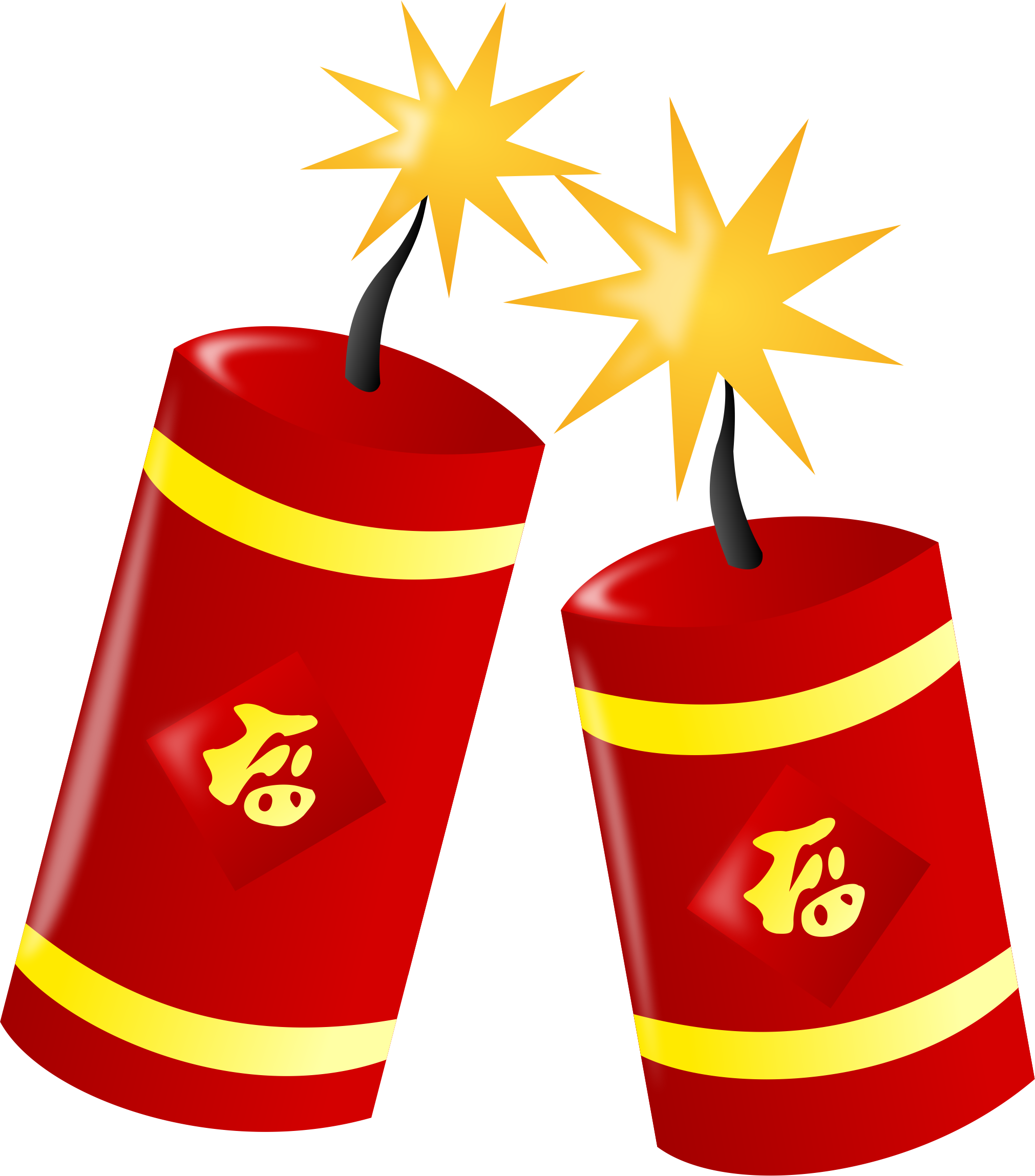 Fire noshadow big image. Cracker clipart package