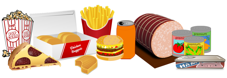 What is processed food. Grain clipart unhealthy