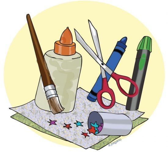 Craft clipart. Clip art kids preschool