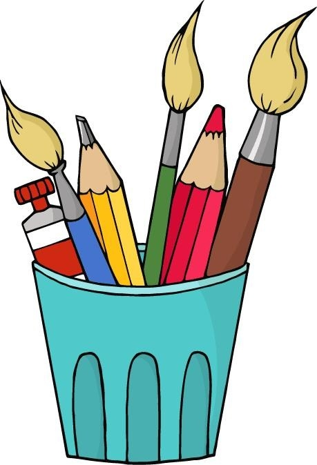 Arts and crafts clip. Craft clipart