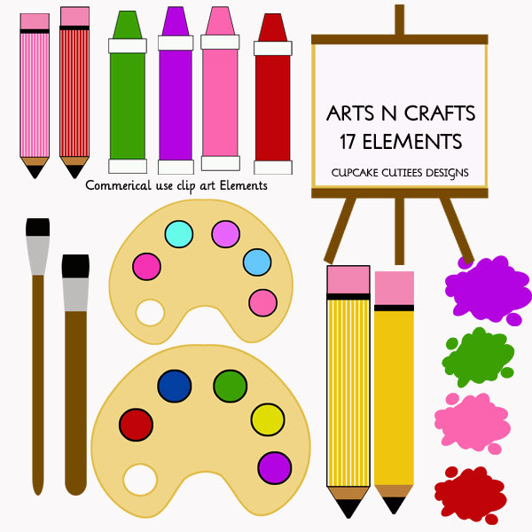 Craft clipart art area. Free cliparts download clip