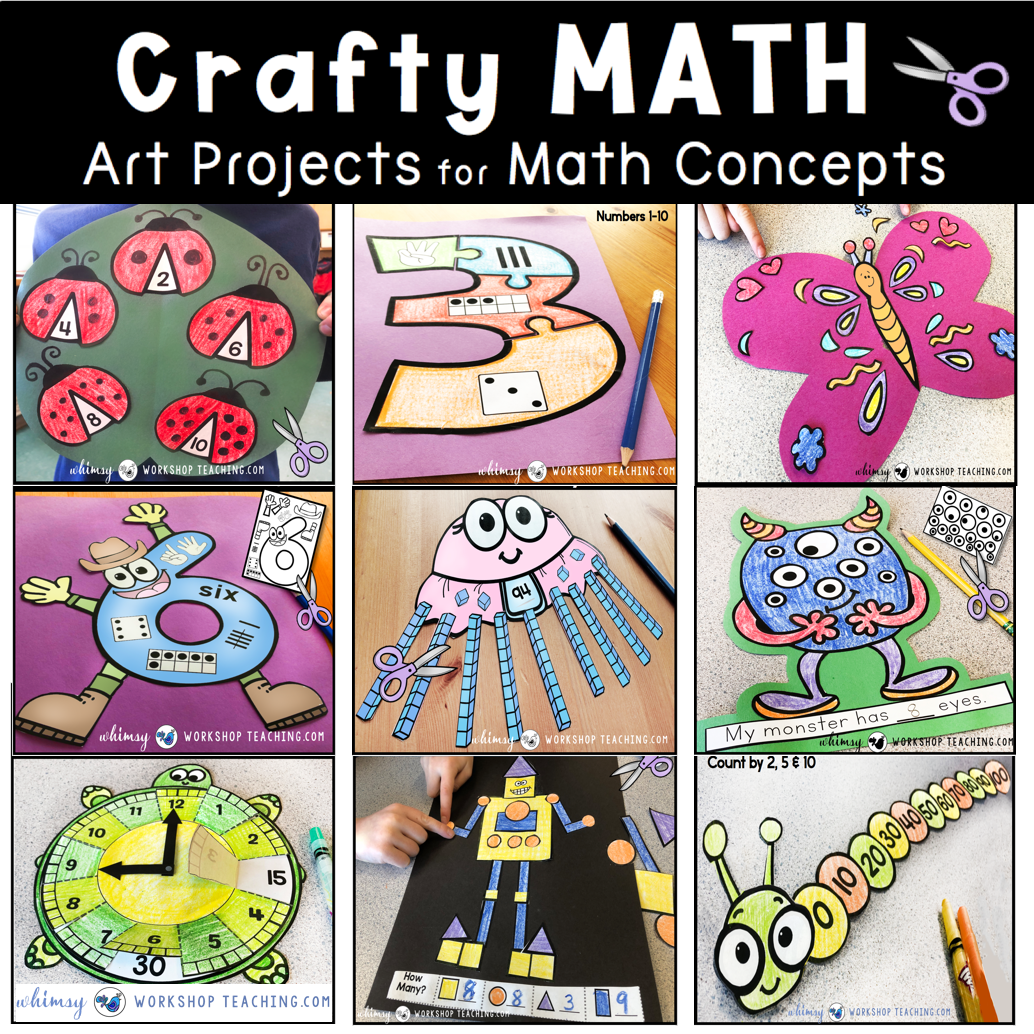 Crafts clipart art lesson. Math whimsy workshop teaching