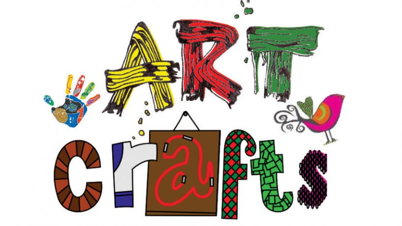 Crafts clipart craft class. Art and kids colleague