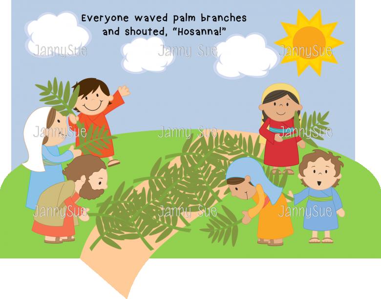 Craft clipart children's. Palm sunday thumb
