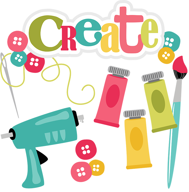 Paintbrush clipart svg. Kids crafting auglaize county