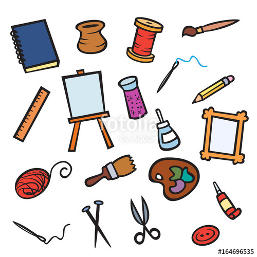 Items stock photo and. Craft clipart craft item