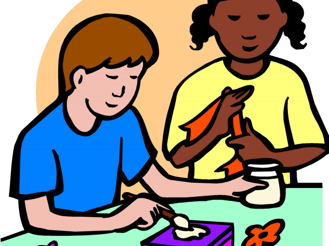 crafts huge freebie. Craft clipart craft table