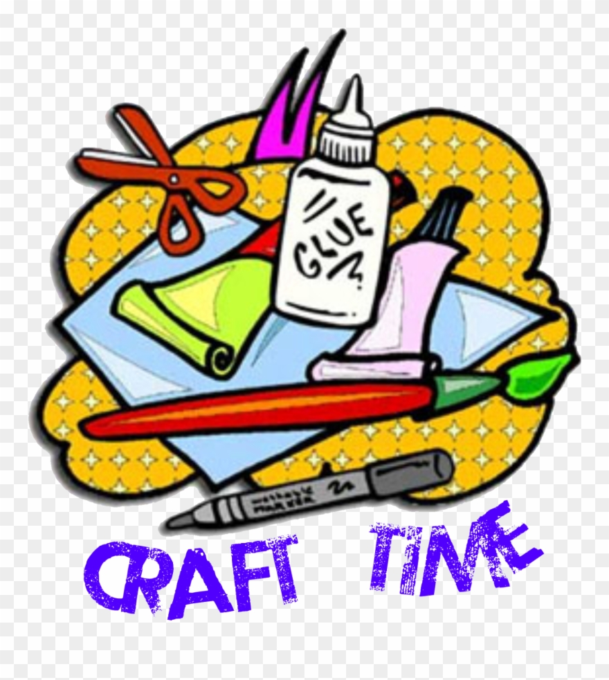 Craft clipart craft time. Clip art png download