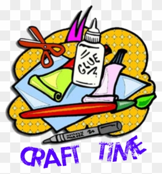 Clip art png download. Craft clipart craft time