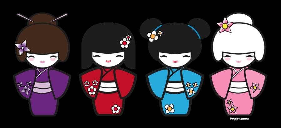 Doll kokeshi journal pinterest. Dolls clipart child