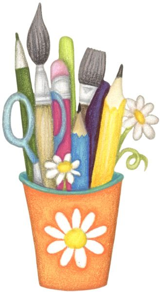 Cup clip art misc. Craft clipart different material