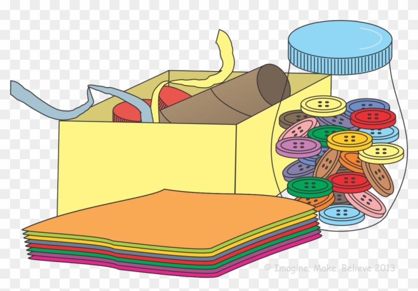 Supplies list materials png. Craft clipart different material
