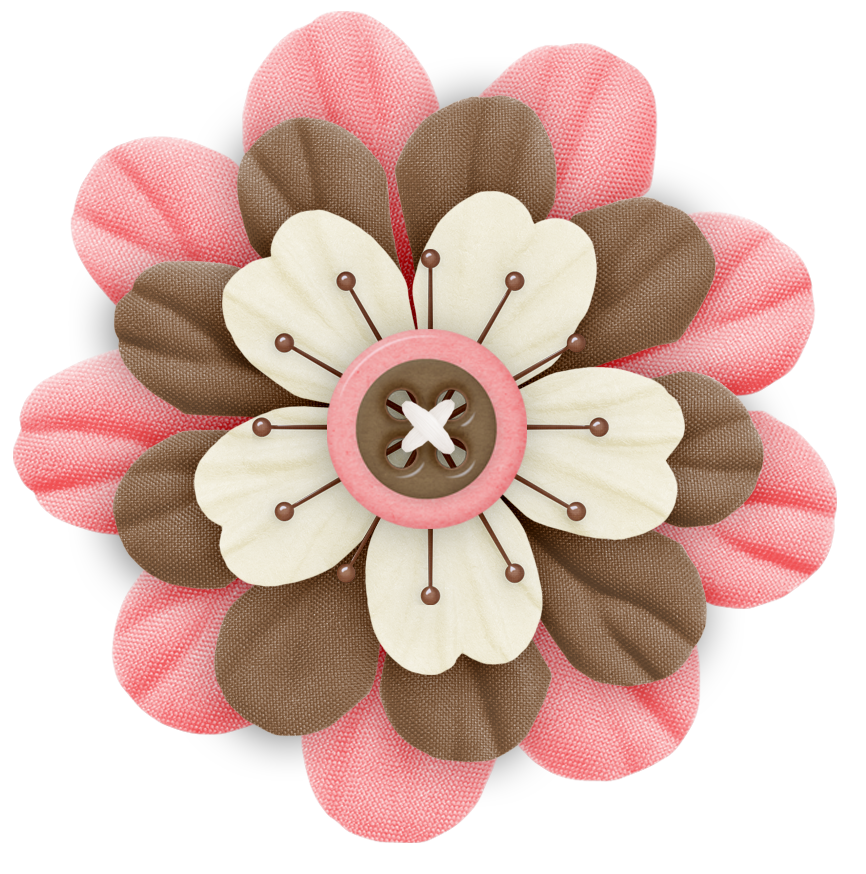 Cute cliparts pink and. Craft clipart flower