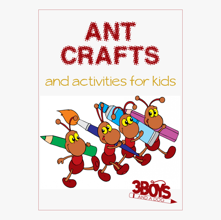 Craft ants free . Crafts clipart fun activity