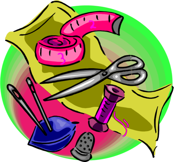 Sewing clipart craft. Free cliparts download clip
