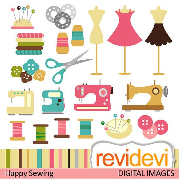 Sewing clipart craft. Commercial use machine mannequin