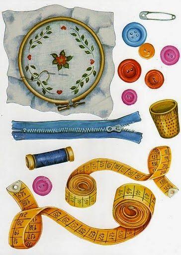 Craft clipart sewing box. L minas para d