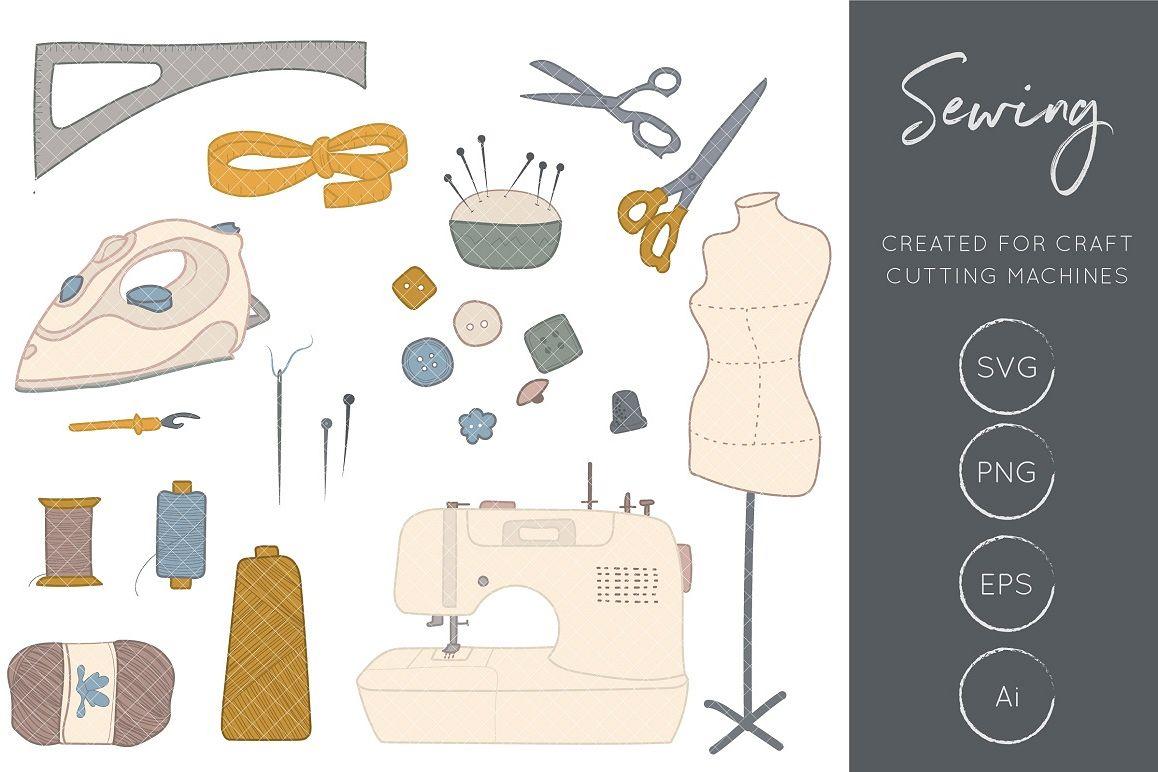 Craft clipart sewing. Machine crafts