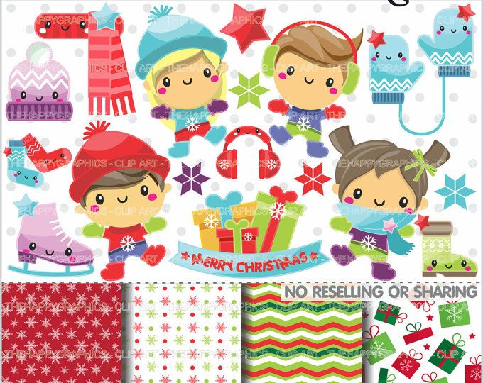 off christmas graphics. Winter clipart craft
