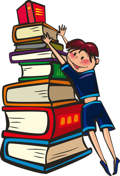 Crafts clipart author's. Reading and writing learning