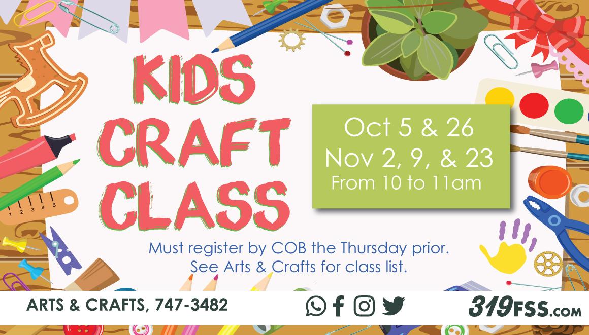 Crafts clipart craft class. Arts center