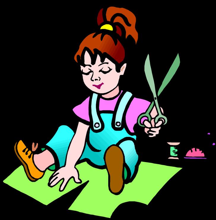 Hd make a cartoon. Crafts clipart craft time