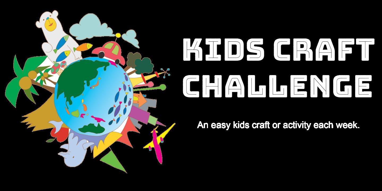 Kids craft challenge . Crafts clipart crafty