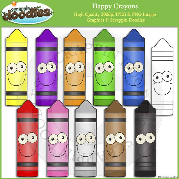 Happy the pre k. Crayons clipart classroom