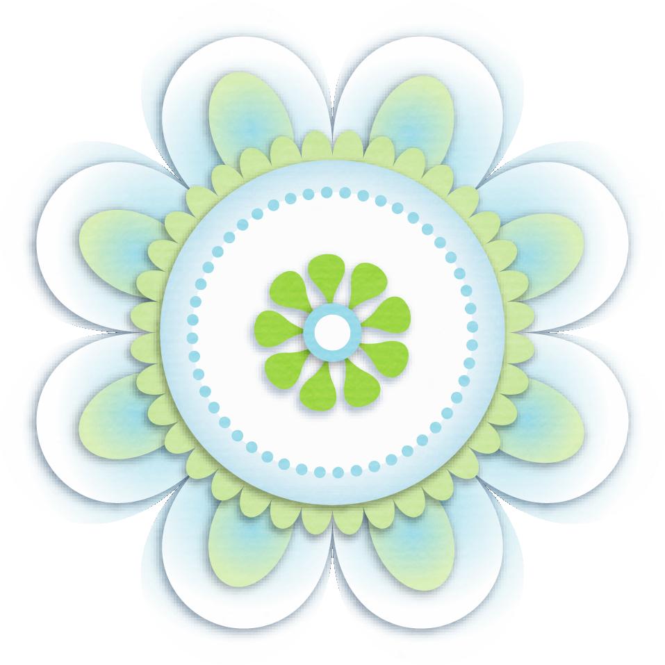 Flowers clipart circle. Pin by toni nieto