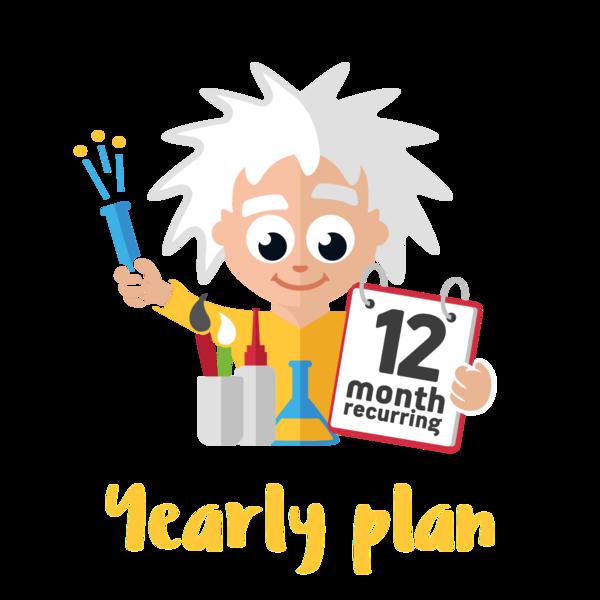 Standard plan two activities. Crafts clipart fun activity