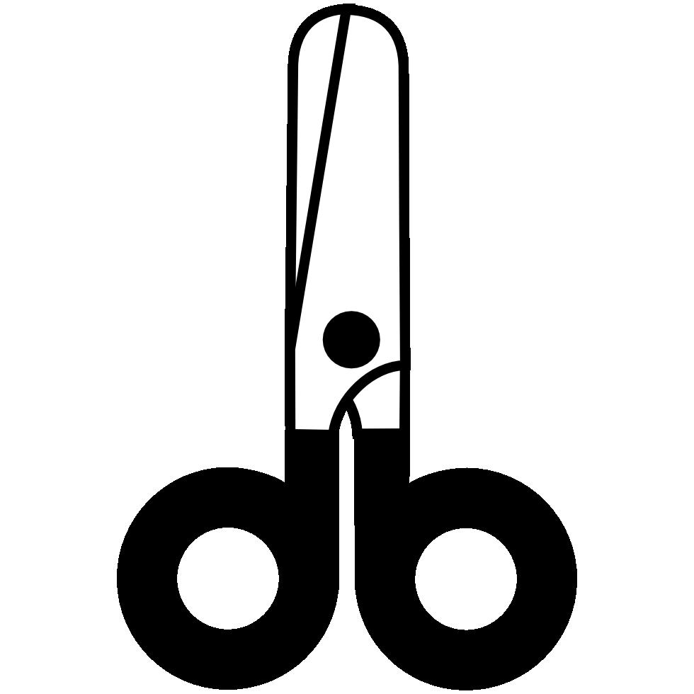 Stick clip art black. Markers clipart glue
