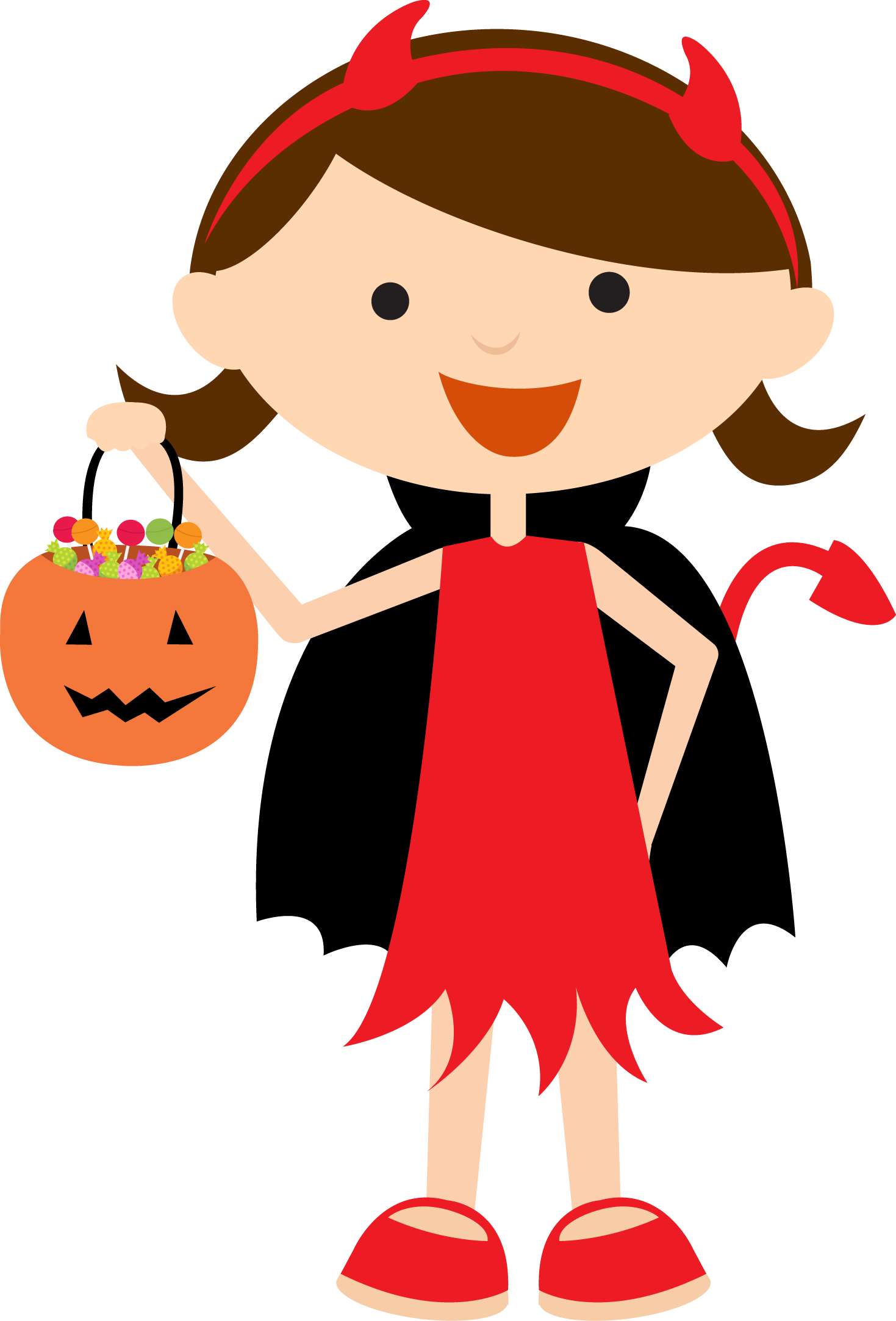 Crafts clipart halloween. Bdhalloweentrickortreat png minus felt