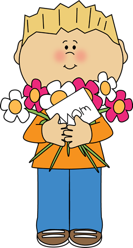 Crafts clipart mothers day. Free happy boy mother